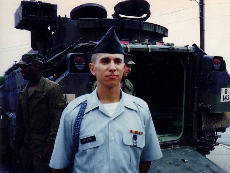 Steve Wiideman - Army Infantry Photo