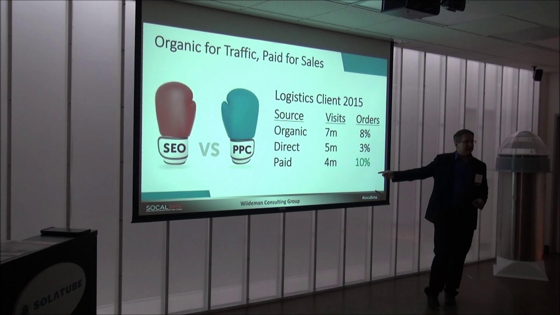 SEO Speaker Steve Wiideman - Tech, Content & Off-Page Topic Presenter