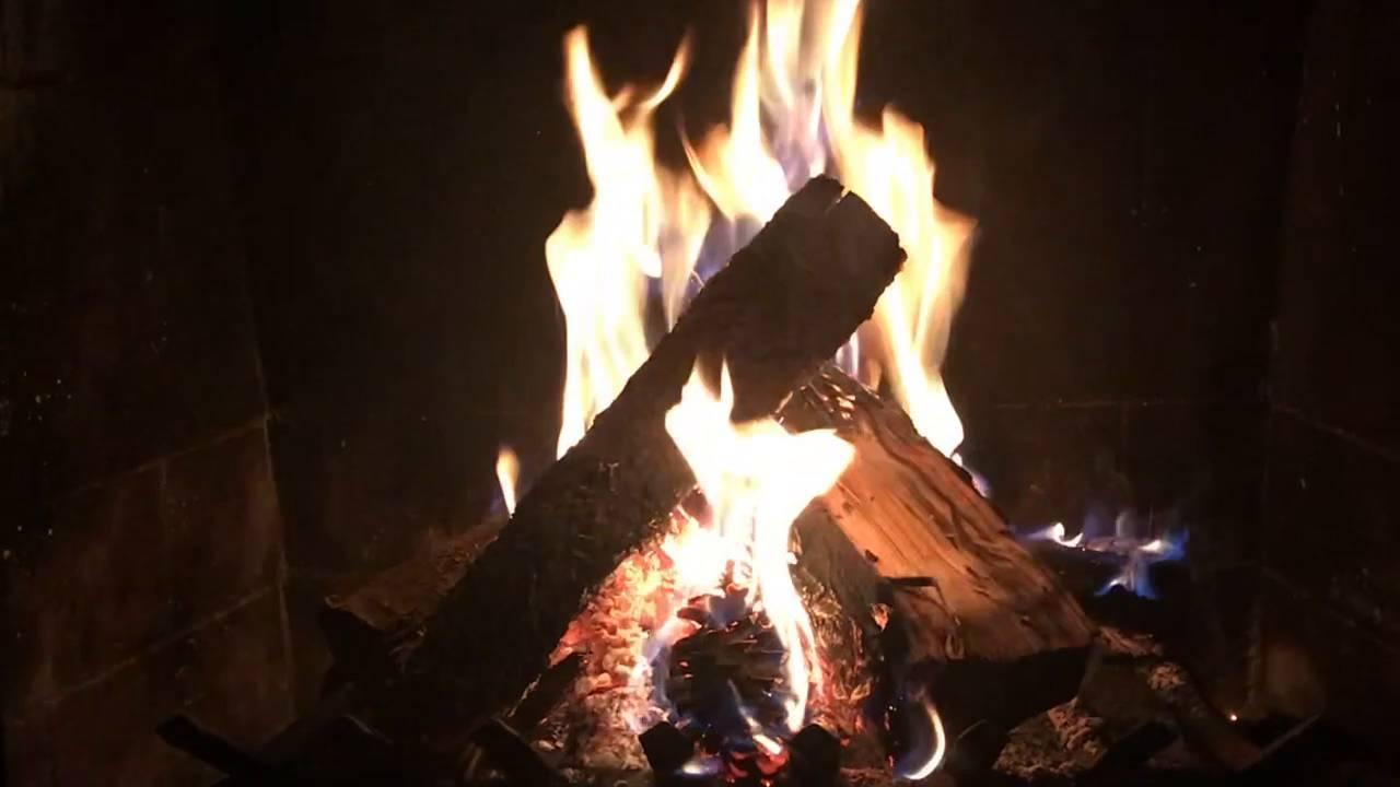 Yule Log Youtube Virtual Fireplace Video Happy Holidays